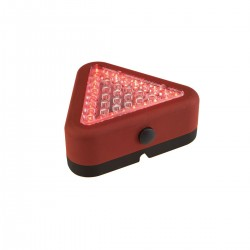 Linterna de Emergencia Triangular 39 LED